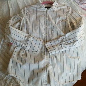 Banana Republic Riley Fit button down blouse sz 12